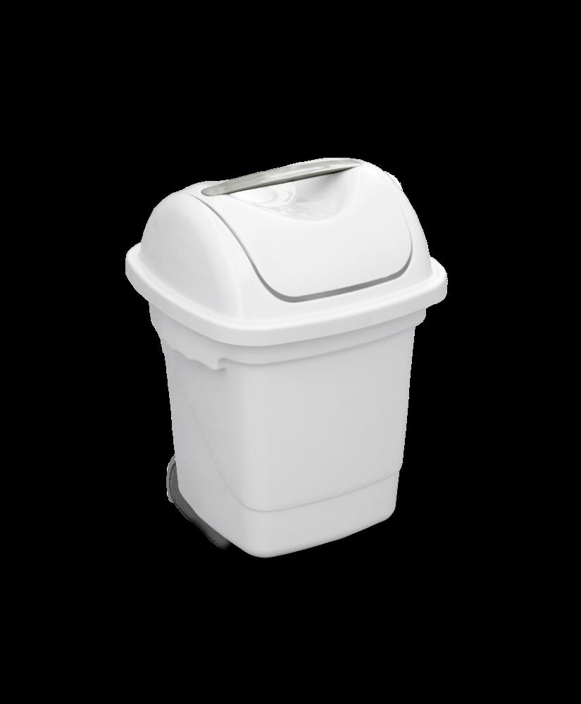 Imagem do produto: Lixeira Basculante 10L 8300 - Branco