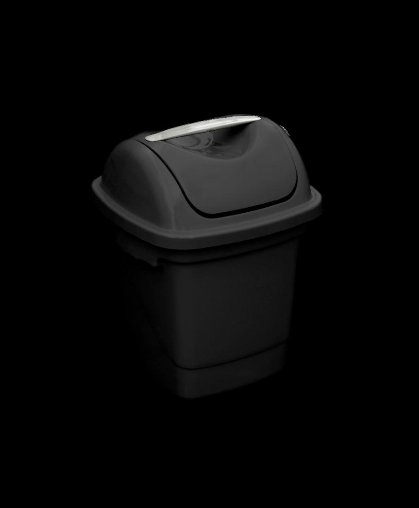 Imagem do produto: Lixeira Basculante 10L 8990 - Preto