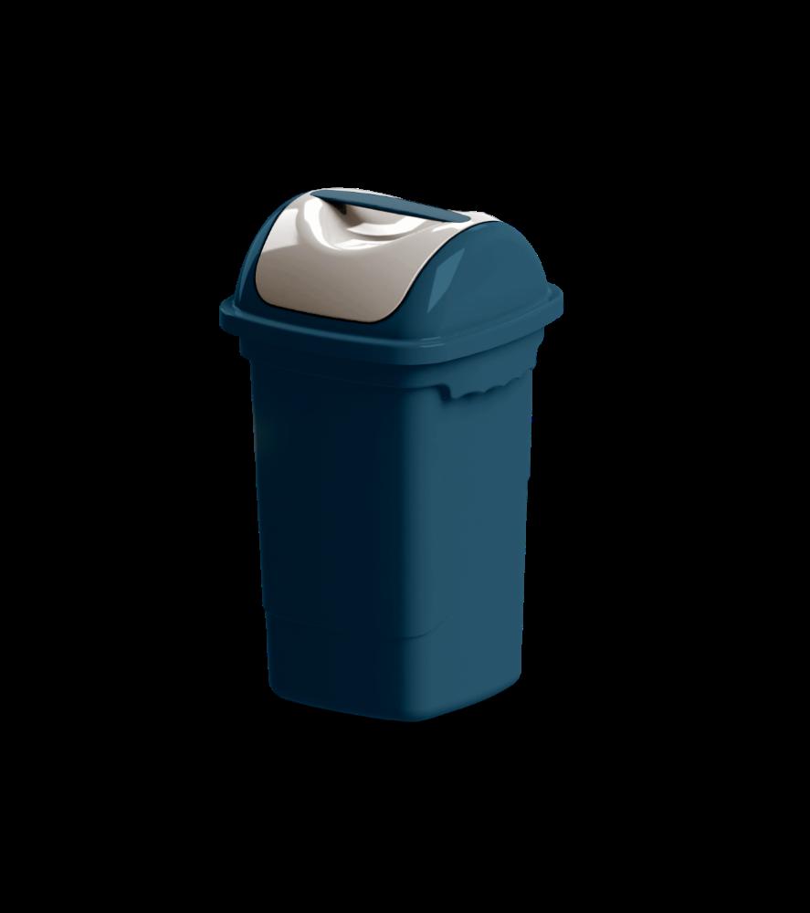 Imagem do produto: Lixeira basculante 14L 2903 - Azul Petróleo
