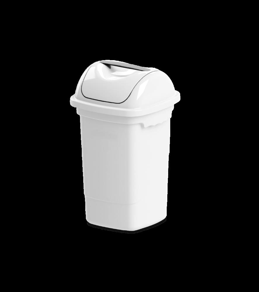 Imagem do produto: Lixeira basculante 14L 8300 - Branco