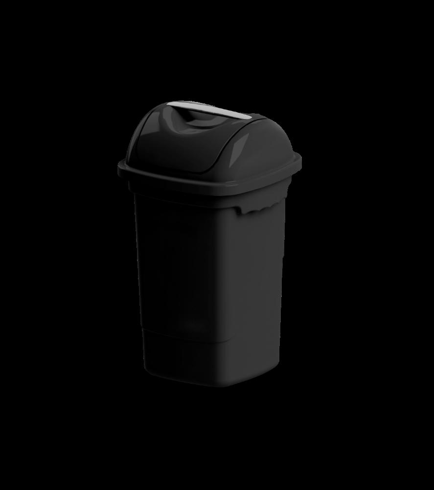 Imagem do produto: Lixeira basculante 14L 8990 - Preto