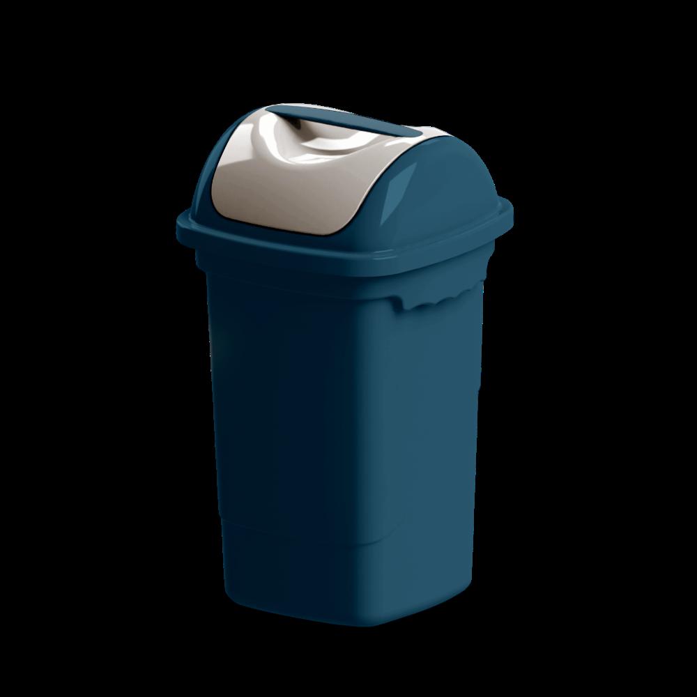 Imagem do produto: Lixeira basculante 30L 2903 - Azul Petróleo