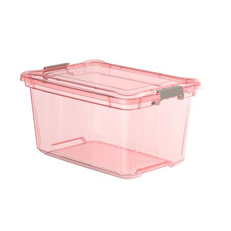Imagem do produto: Organizador 50L 3079 - Rosa Translúcido