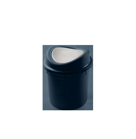 Imagem do produto: Lixeira basculante 2,7L 2903 - Azul Petróleo