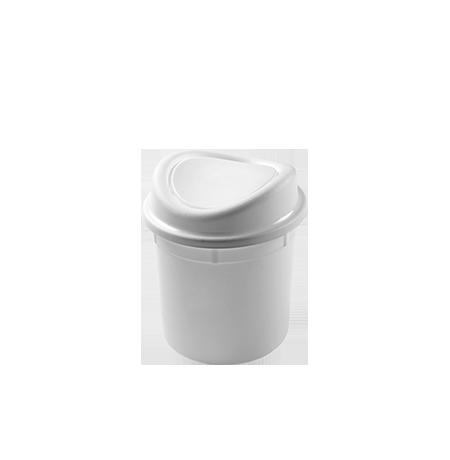 Imagem do produto: Lixeira basculante 2,7L 8300  - Branco