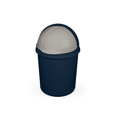 Imagem do produto: Lixeira retrátil 4,1L 2903 - Azul Petróleo