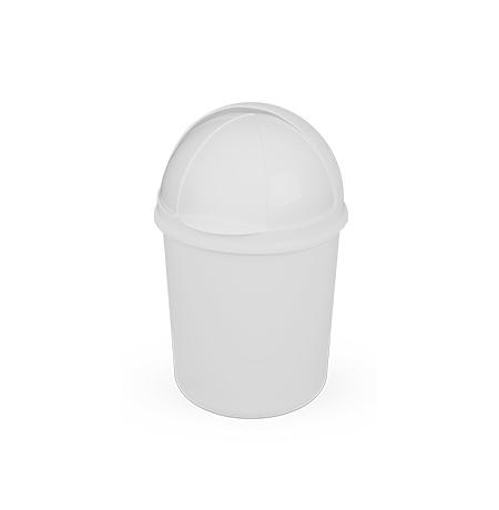 Imagem do produto: Lixeira retrátil 4,1L 8300 - Branco