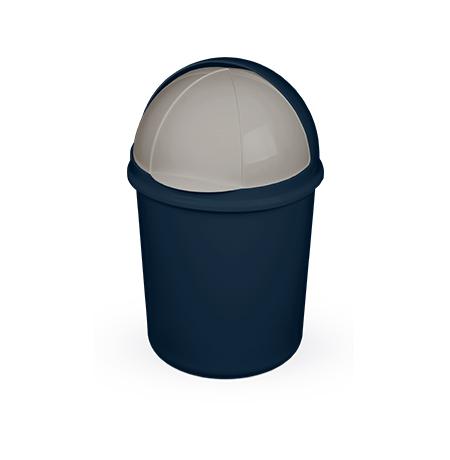 Imagem do produto: Lixeira retrátil 7,3L 2903 - Azul Petróleo