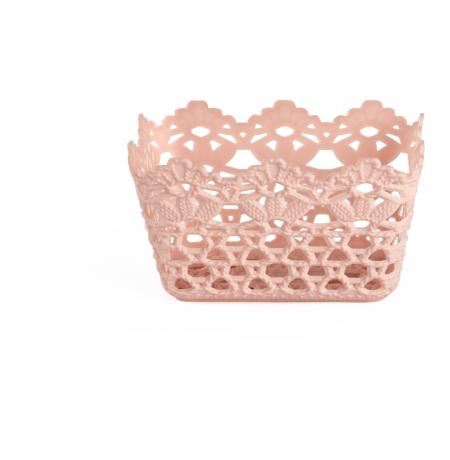 Imagem do produto: Cesto Crochê P 3475 - Rosa