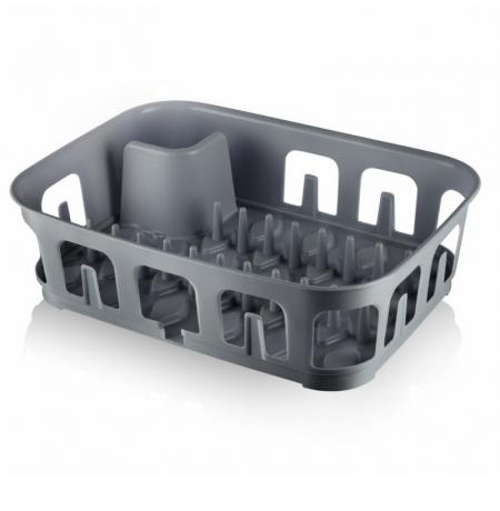 Imagem do produto: Escorredor de Louças 8609 - Cinza Escuro