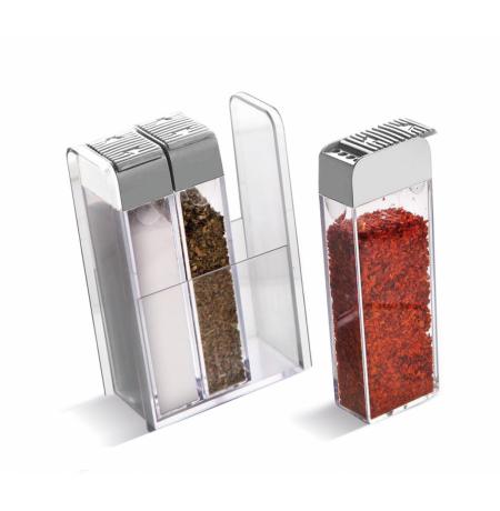 Imagem do produto: Kit 3 Porta Condimentos 9300 - Branco