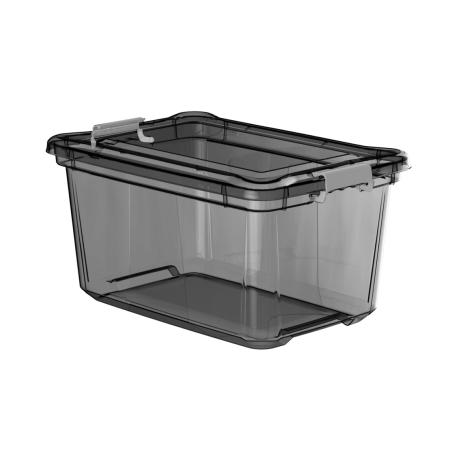 Imagem do produto: Organizador 50L 8890 - Cinza Translúcido