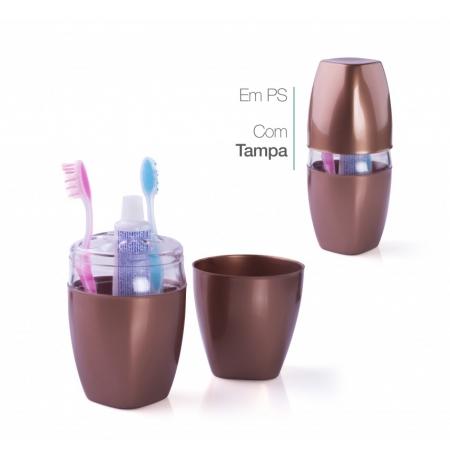 Imagem do produto: Porta Escova de Dente 7403 - Cobre