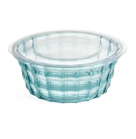 Imagem do produto: Pote Redondo Cristal M 1L 5912 – Azul Turquesa