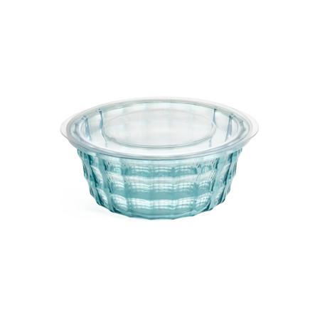 Imagem do produto: Pote Redondo Cristal P 0,4L 5912 - Verde Transparente
