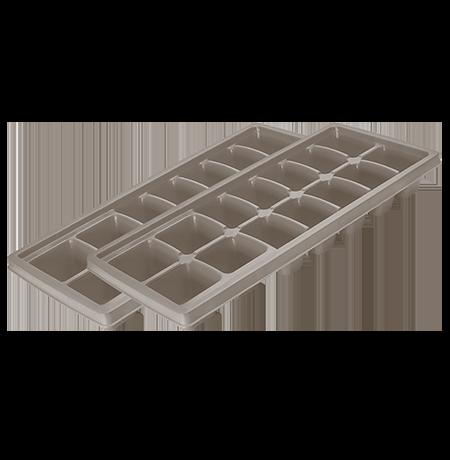 Set of 2 Flexible Ice Trays
