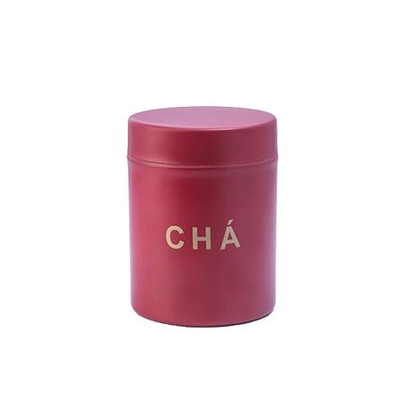 Imagem do produto: Pote para Chá 0,8L 3877 - Vermelho