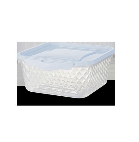 Imagem do produto: Contenedor Cuadrado 1L 8300 - Blanco