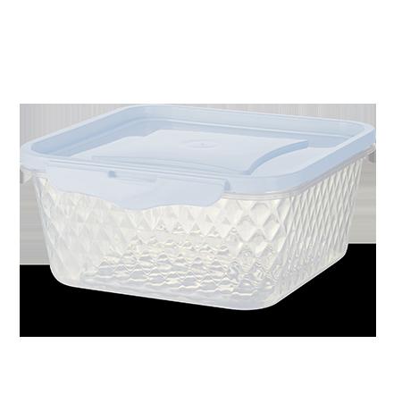Imagem do produto: Pote Quadrado 1,7L 8300 - Branco