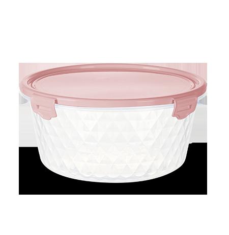 Imagem do produto: Pote Redondo 1,7L 3475 - Rosa