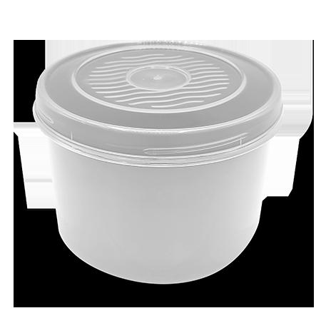 Imagem do produto: Pote com Rosca 1,25L 8300 - Branco