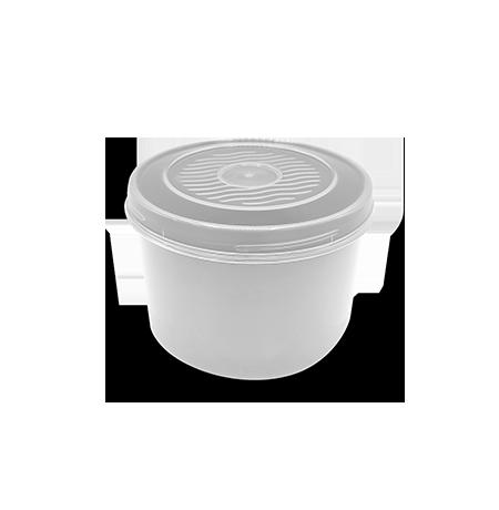 Imagem do produto: Pote com Rosca 0,4L 8300 - Branco
