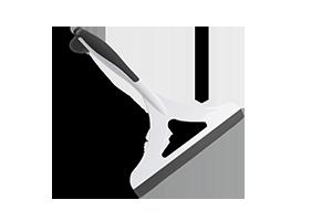 Imagem do produto: Rodo Multiuso 8300 - Branco com preto