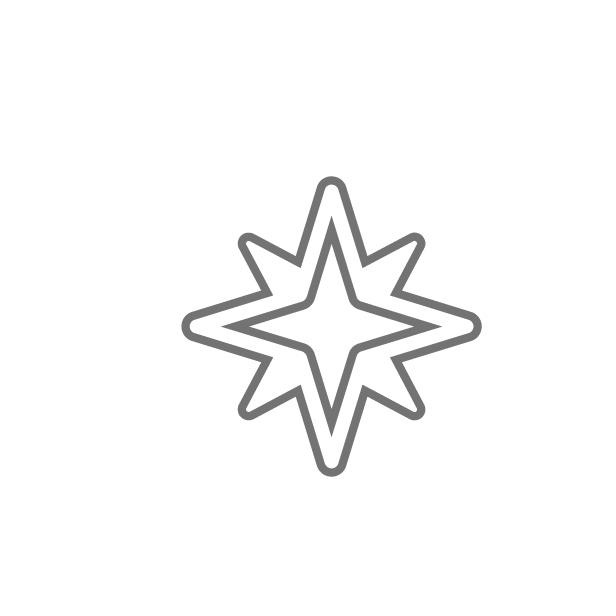 ícone caracteristica Com luz