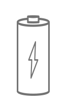 ícone caracteristica Produto a pilha