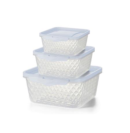 Imagem do produto: Set of 3 Cristal Containers 4600