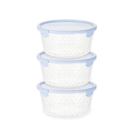 Imagem do produto: Set of 3 Cristal Containers 0,55L 4600