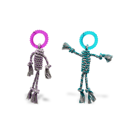 Imagem do produto Mordedor Boneco com Corda