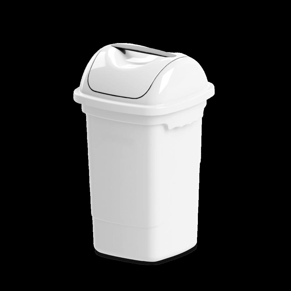 Imagem do produto: Lixeira basculante 30L 8300 - Branco