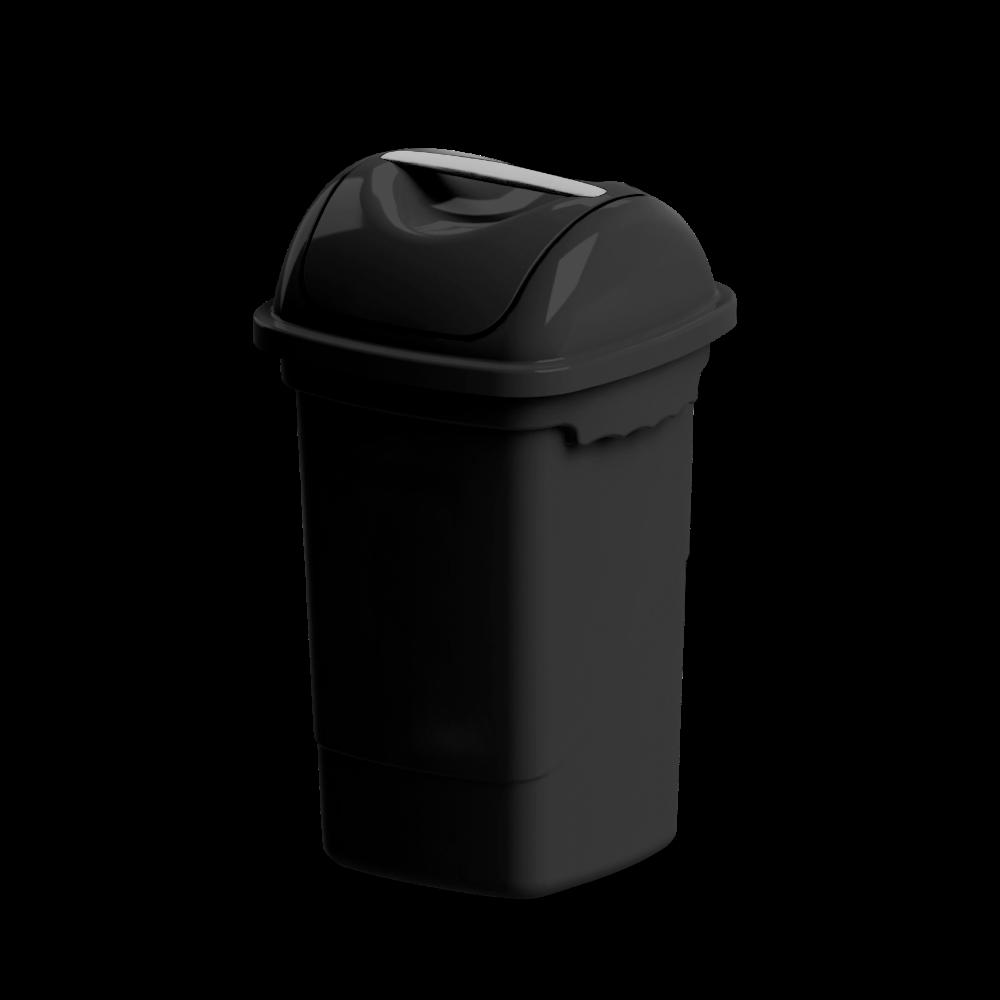 Imagem do produto: Lixeira basculante 30L 8990 - Preto