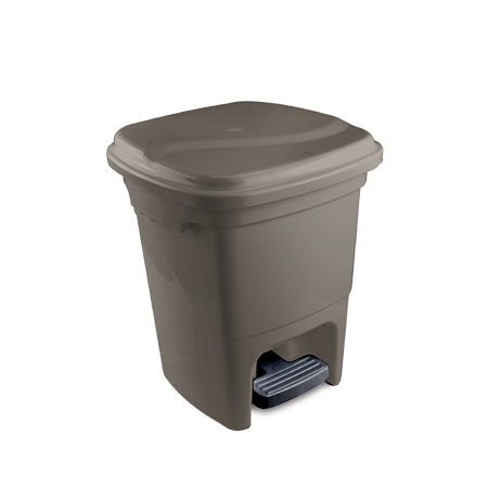 Trash Can With Pedal 15L