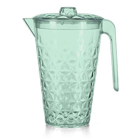 Imagem do produto: Crystal Jar With Lid 5242 - Translucent green