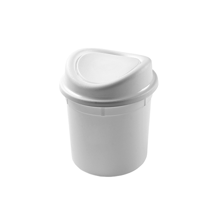 Imagem do produto: Lixeira basculante 12L 8300  - Branco
