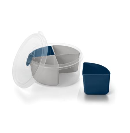 Imagem do produto: Marmita 4 Divisórias Removíveis 2903 - Azul Petróleo