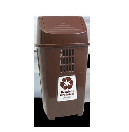 Lixeira Basculante 50L Resíduos Orgânicos