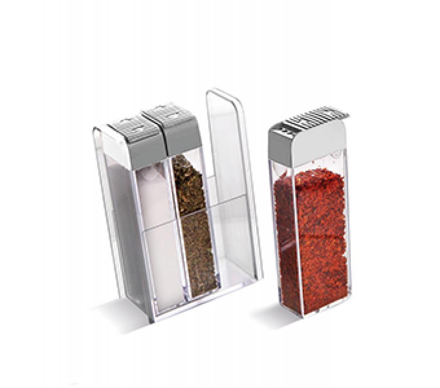 Imagem do produto Kit 3 Porta Condimentos