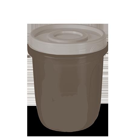 Imagem do produto: Pote com Rosca 1L 7745 - Fendi