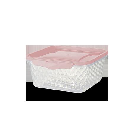 Imagem do produto: Contenedor Cuadrado 0,55L 3475 - Rosa