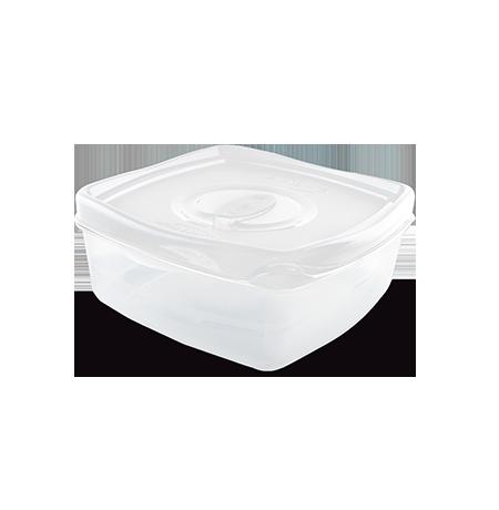 Imagem do produto: Pote 3 divisórias 1,2L 8300 - Branco