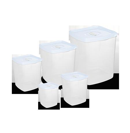 Imagem do produto Set of 5 Square Container