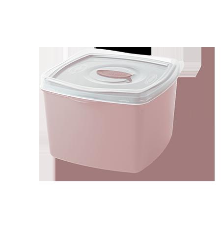 Imagem do produto: Pote Quadrado 2,8L 3475 - Rosa