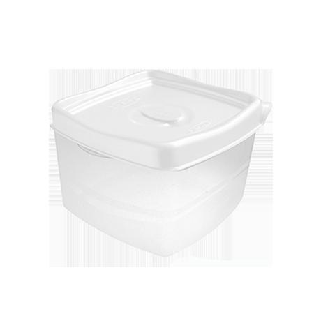 Imagem do produto: Pote Quadrado 2,8L 8300 - Branco