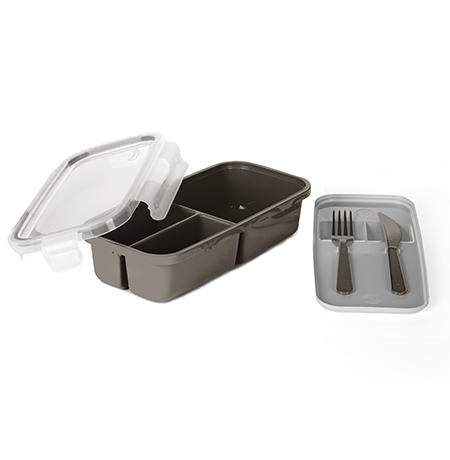 Imagem do produto: Contenedor para alimentos con 3 divisiones 7745 - Fendi