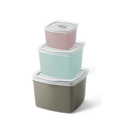 Imagem do produto Set of 03 Containers Wave